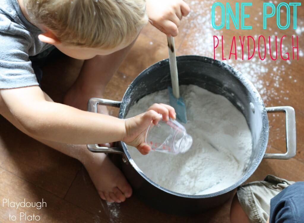 One Pot Playdough Recipe