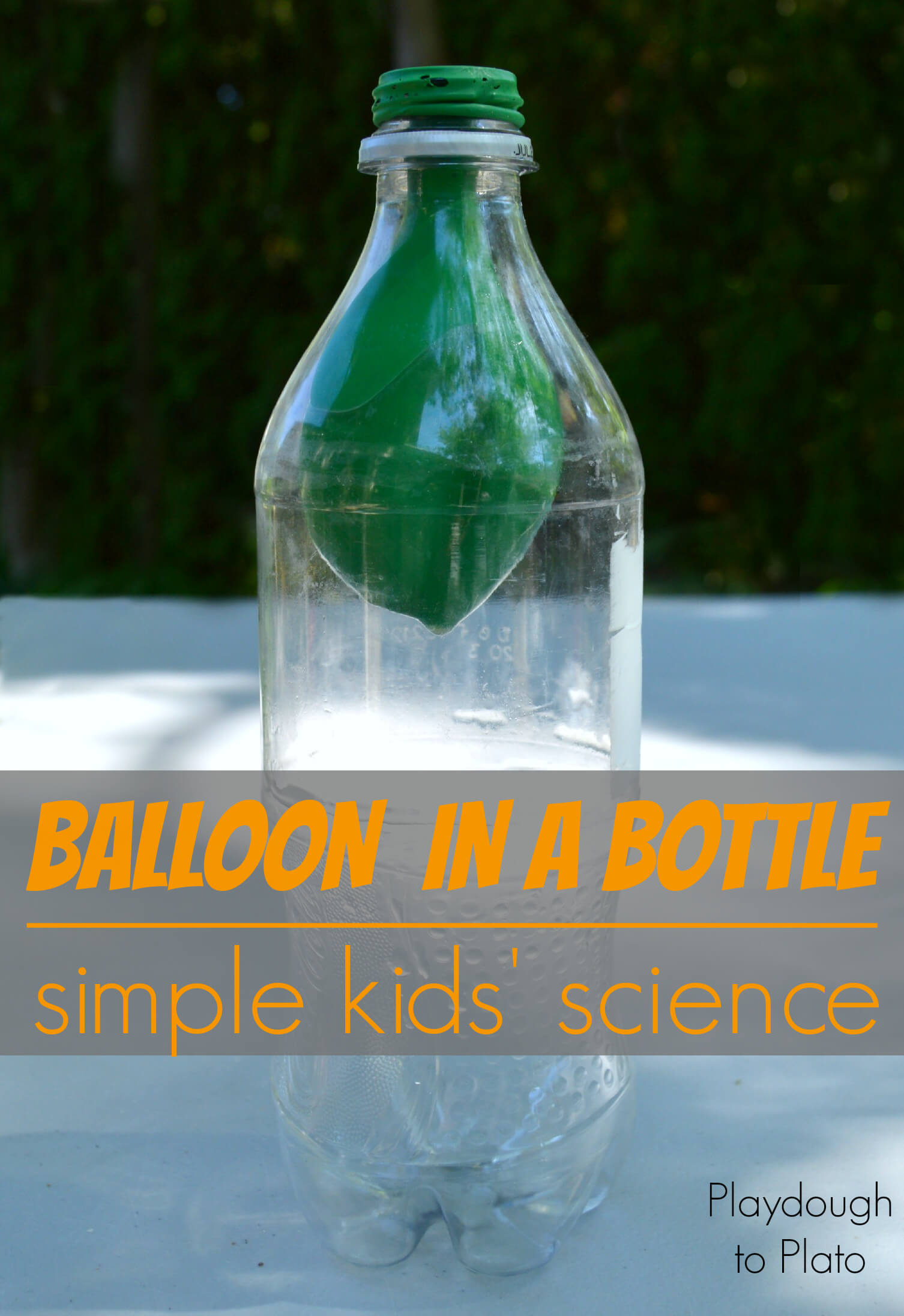 Balloon in a Bottle