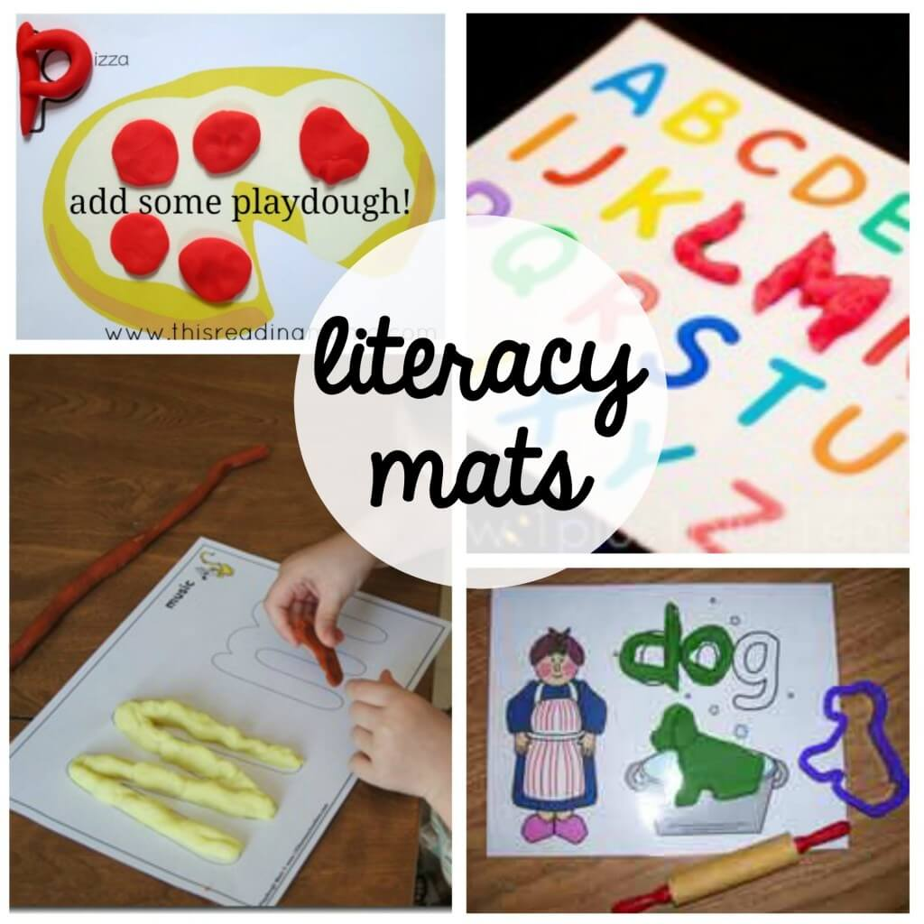 Tons of fun, FREE playdough mats for kids. Great way to practice reading, math and fine motor skills with preschool and kindergarten.