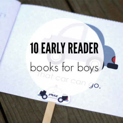 10 Early Reader Books for Boys