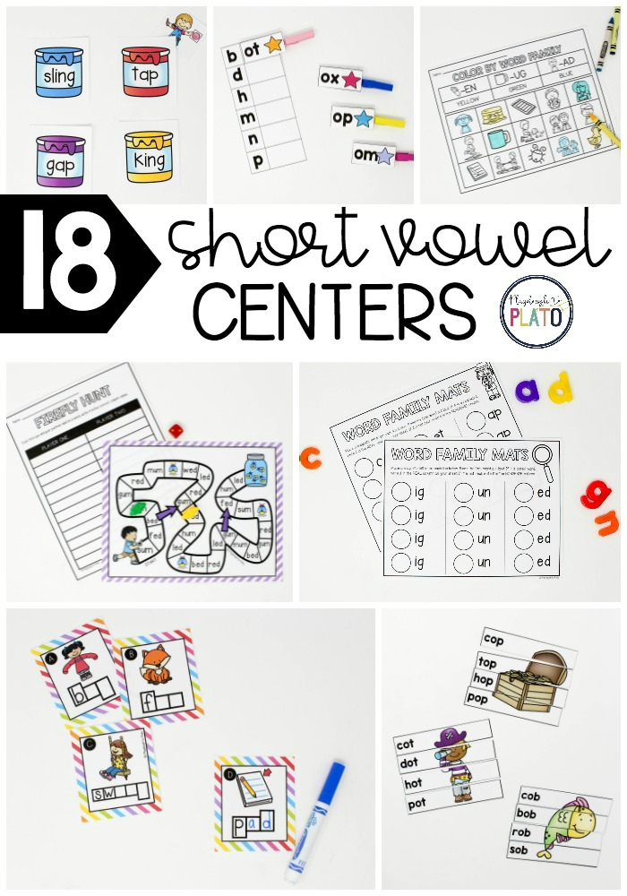 Short Vowel Word Families