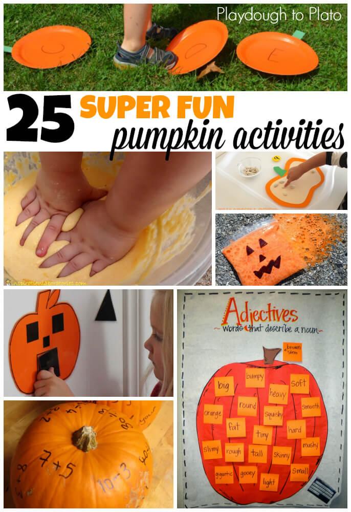 25 kegiatan Super Fun untuk anak-anak Labu