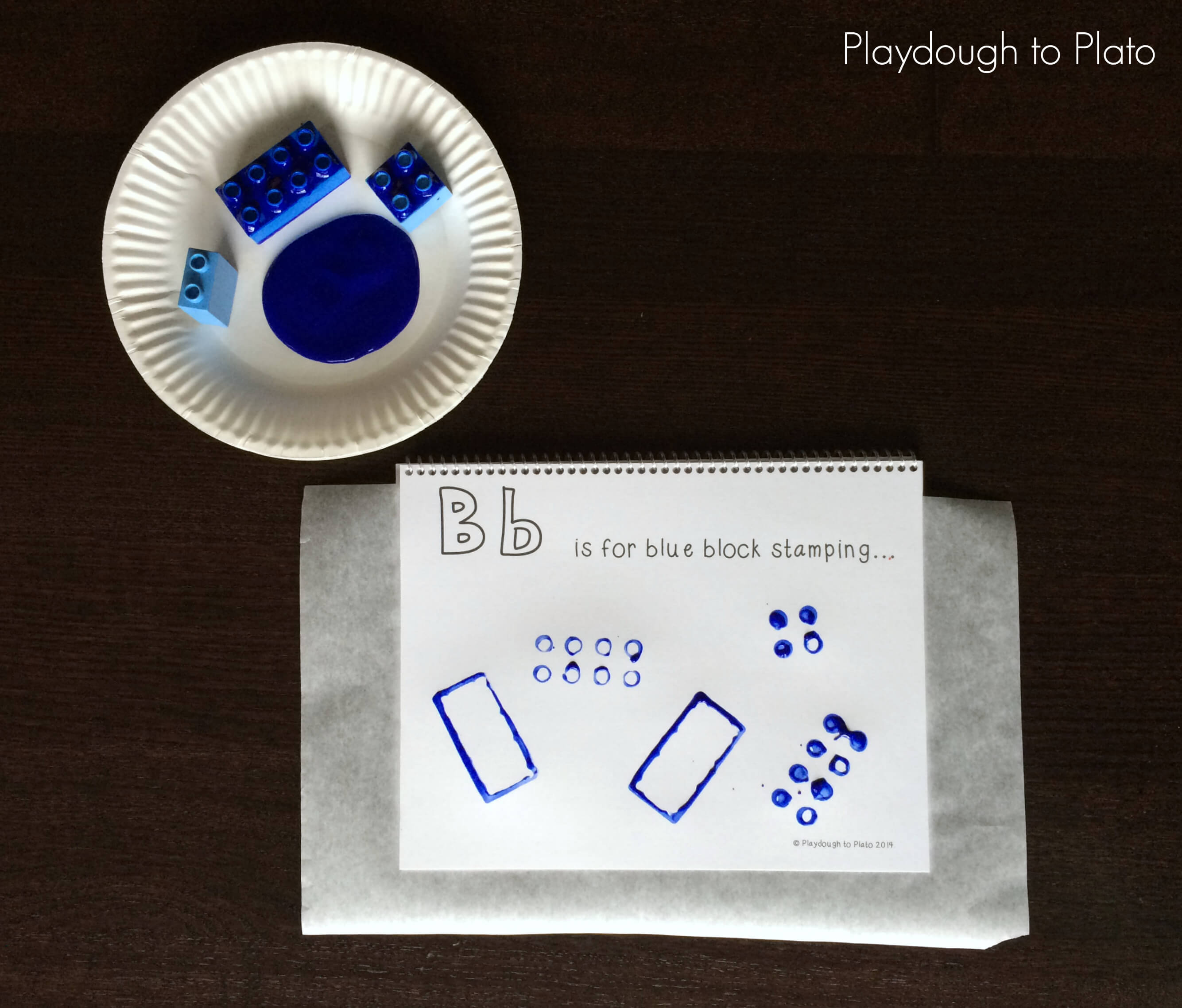 picture regarding Free Printable Abc Book named Free of charge Printable ABC Guide - Playdough In direction of Plato