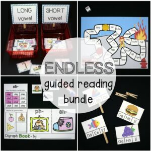 Endless Guided Reading Bundle Square