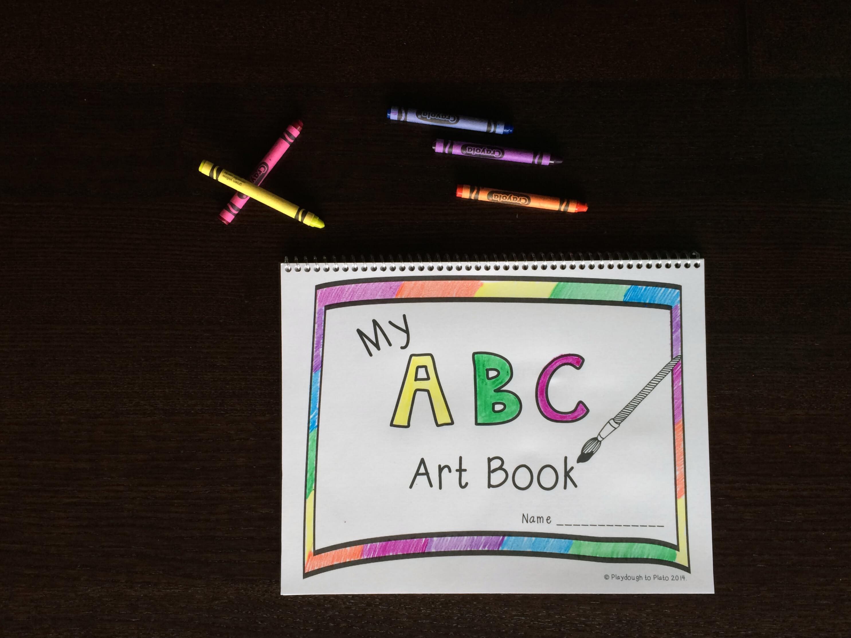 free printable abc book