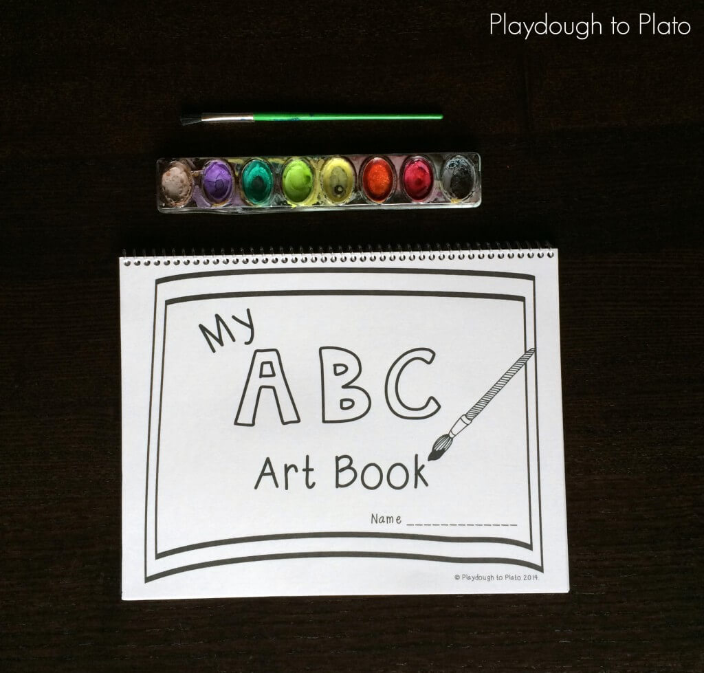 Free printable ABC Book for Kids. So fun!!