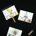 Fun rhyme clip cards!