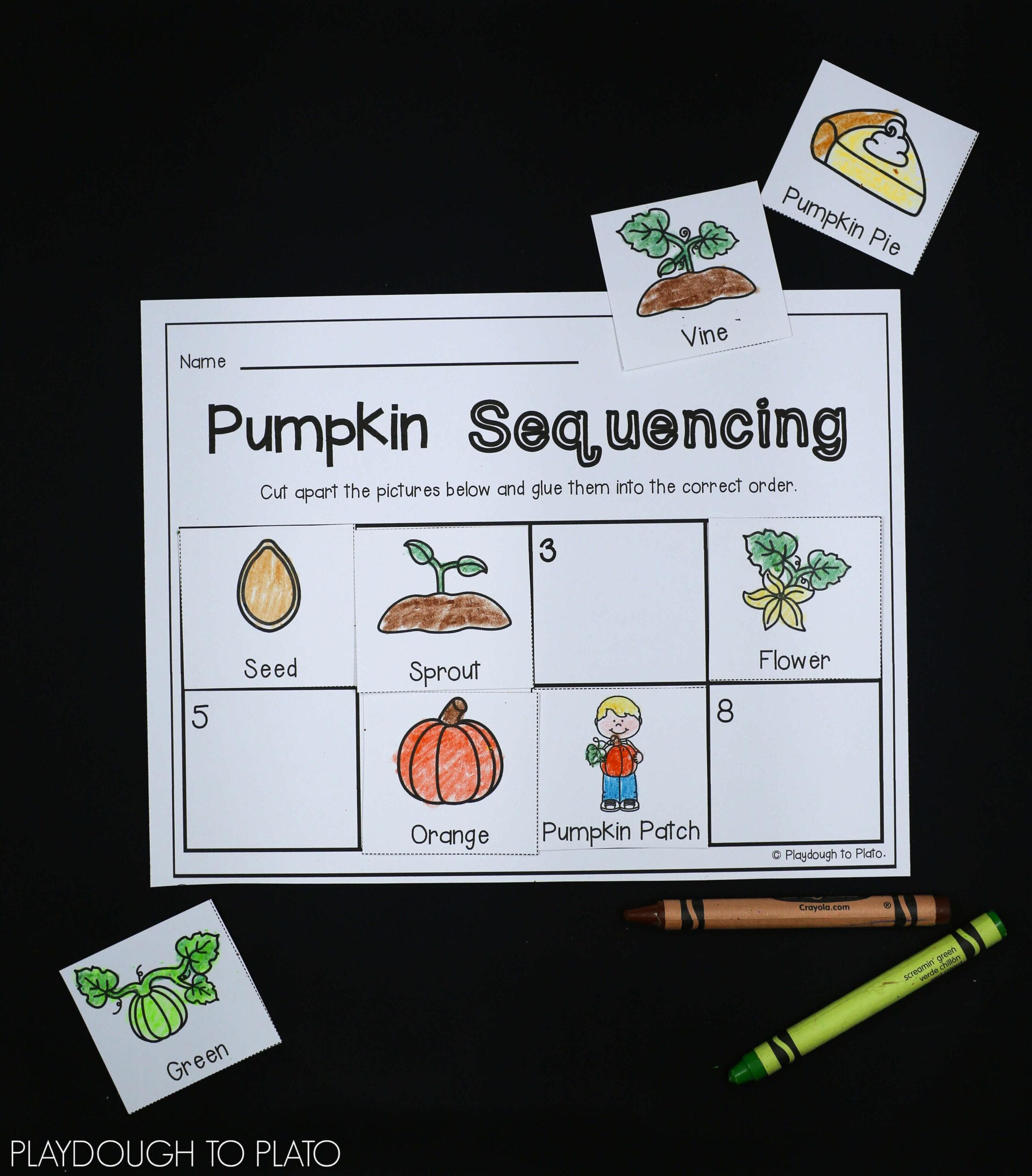 Pumpkin Activity Packet