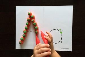 Pumpkin ABC Tracing