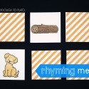 Rhyming Memory Game!