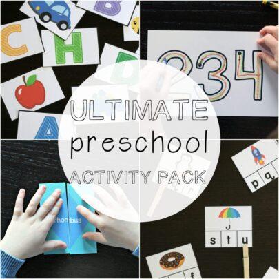 The Ultimate Preschool Activity Pack