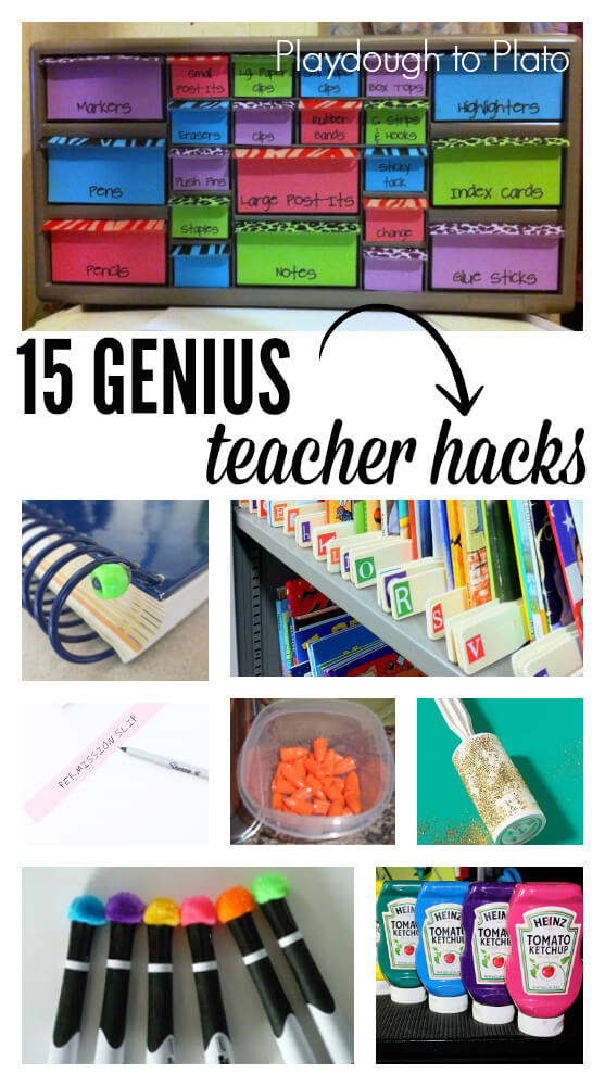 Classroom Decor Hacks ~ Second grade nest decorating and organizing in the summer