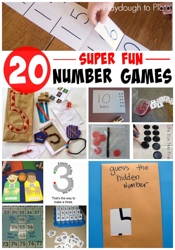 20 Super Fun Number Games