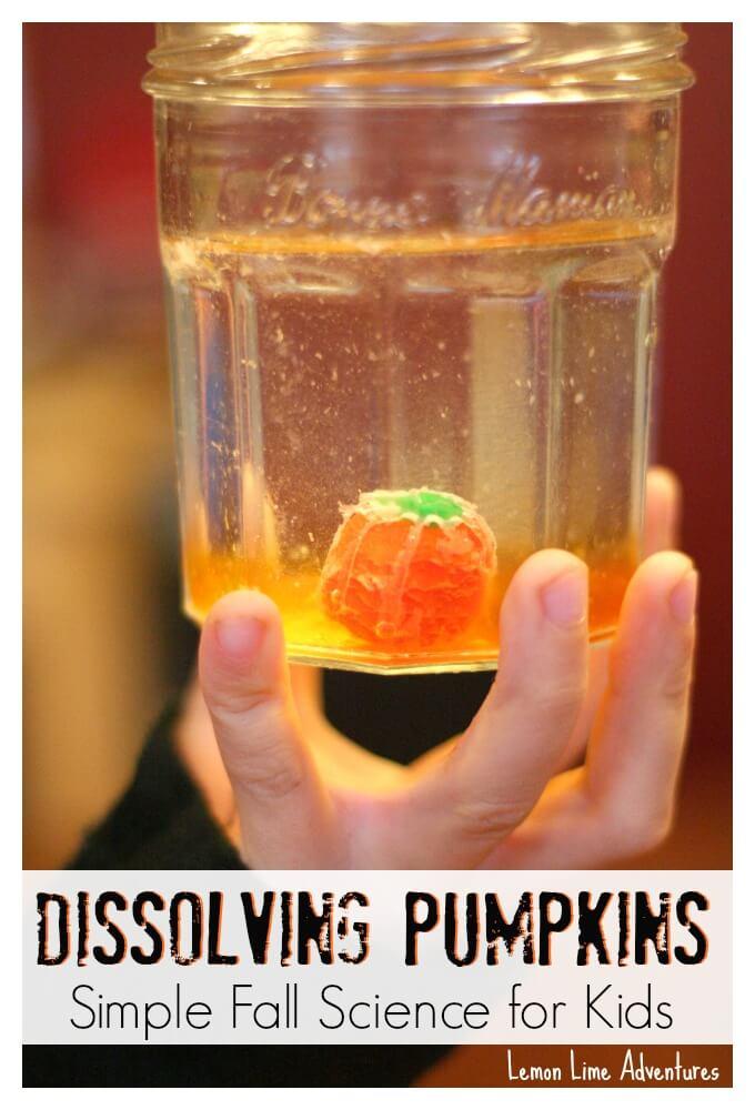 Dissolving-Pumpkin-Candy-Experiments