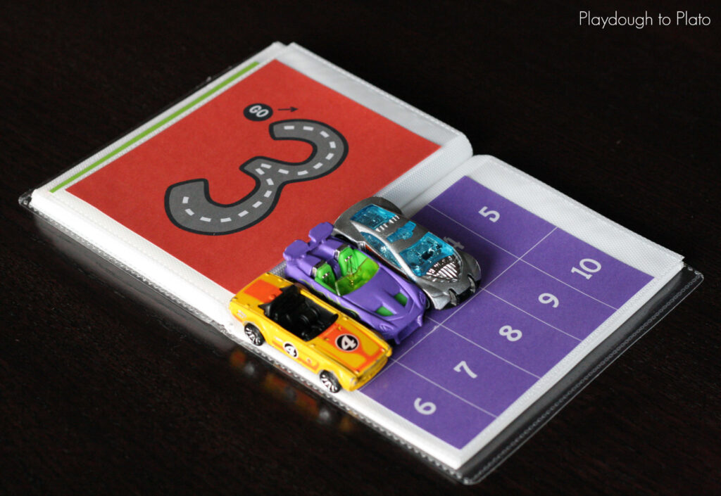 FREE Car Counting and Number Writing Book