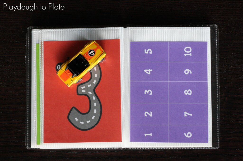 Free Printable Number Tracing and Counting Book