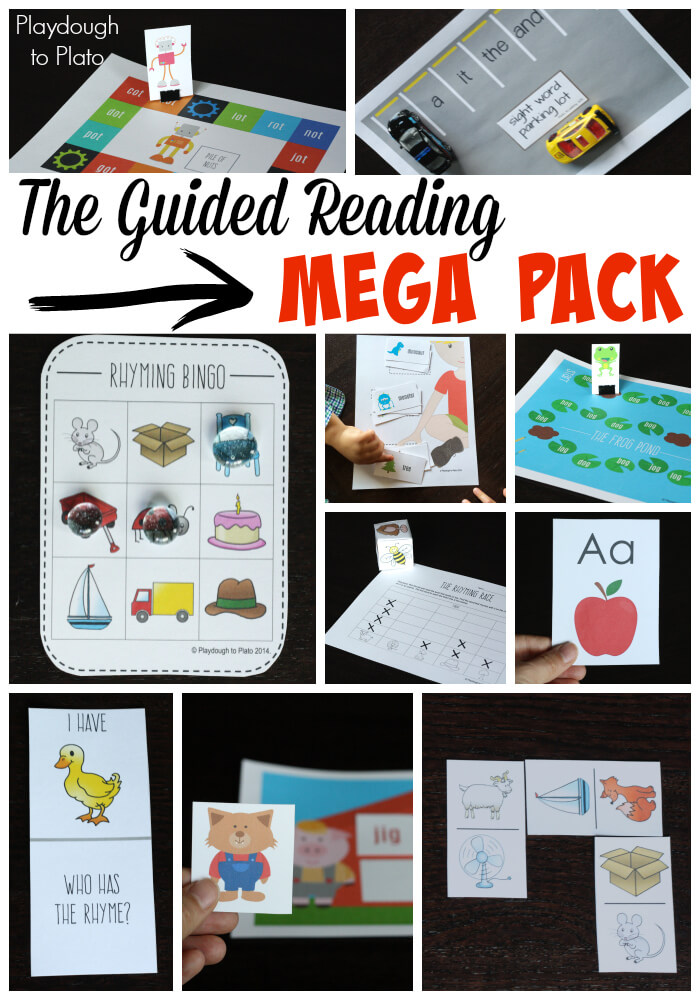 Guided Reading Books Guided Reading Mega Pack