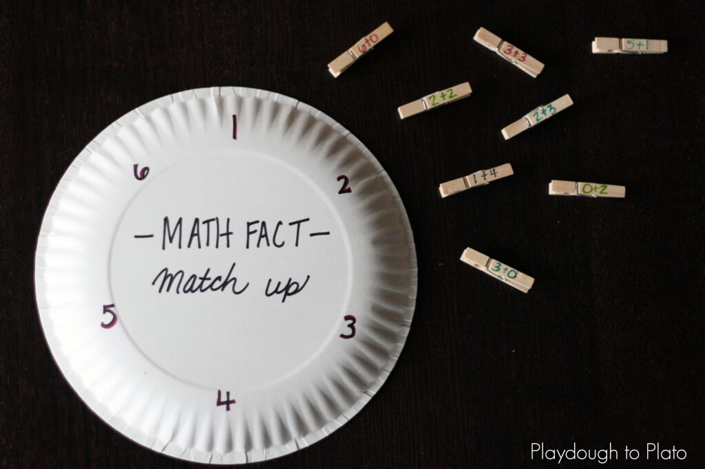Awesome Math Fact Game for Kids