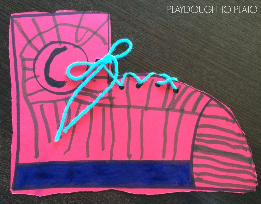 Awesome follow up to Pete the Cat. Make a shoe glyph!