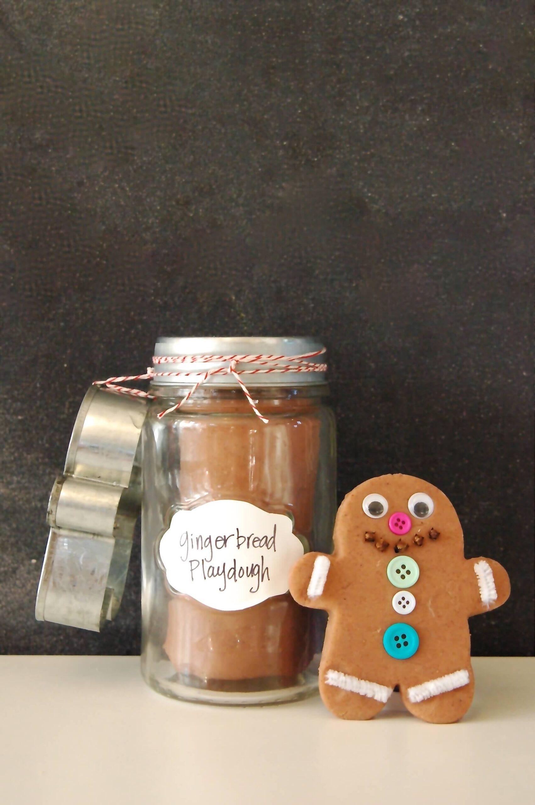 Gingerbread Man in a Jar