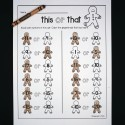 Gingerbread math for preschool and kindergarten! Lots of fun Christmas activities in this pack.