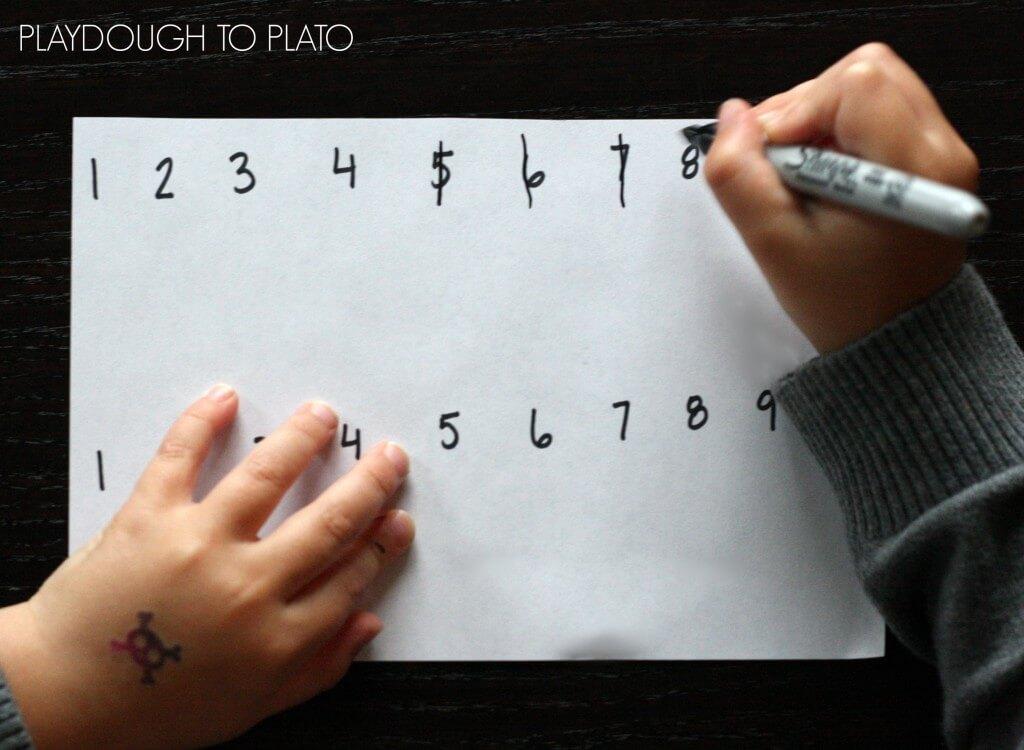 No prep, super fun math game for kids.