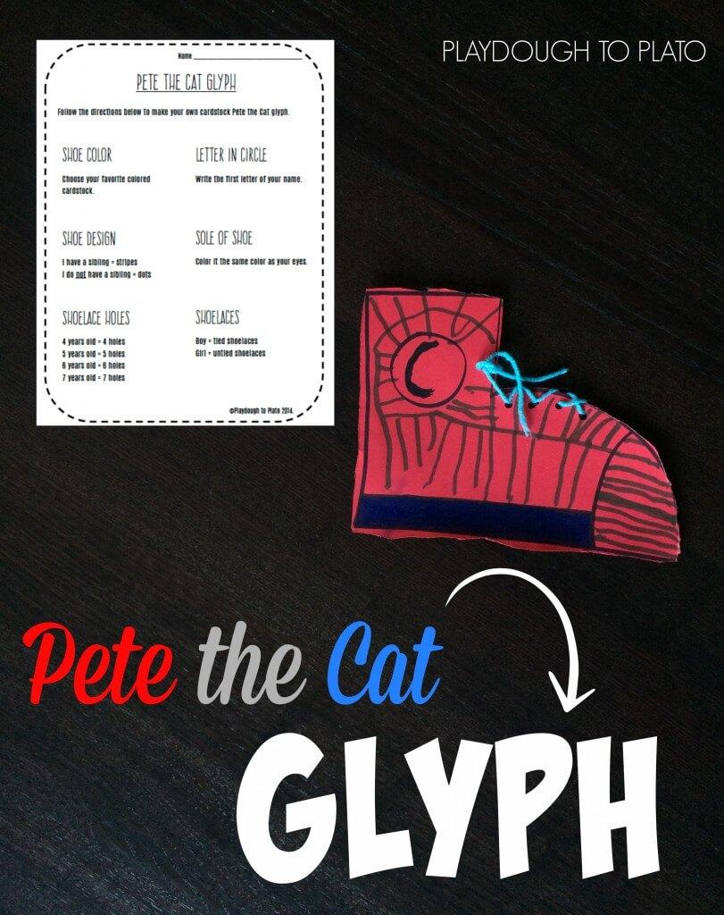Pete the Cat Glyph