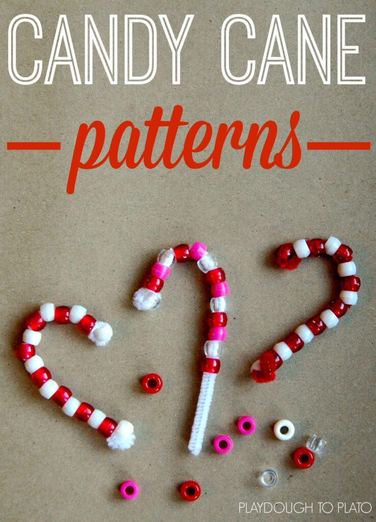 Festive pattern practice and ornament making in one!!