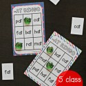 Super fun word family Bingo. 5 class sets included!