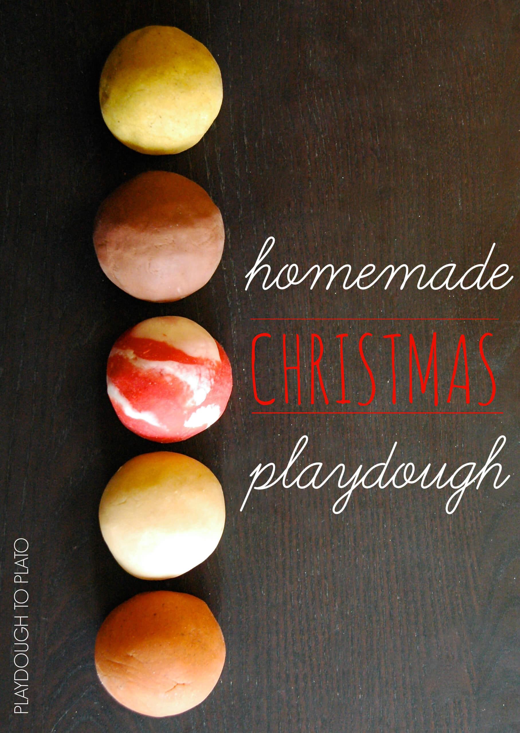 Diy Squishy Dough : Must Try Homemade Playdough for Christmas - Playdough To Plato