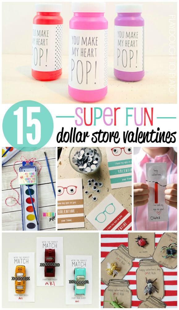 15 Super Fun Dollar Store Valentines