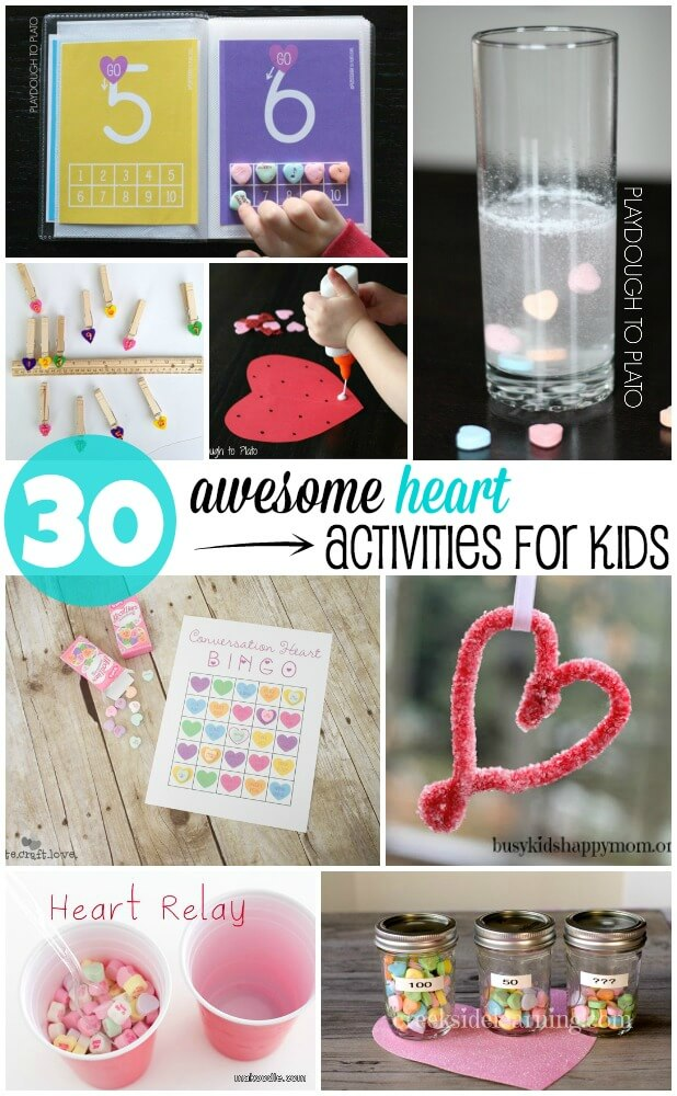 30 Awesome Heart Activities fro Kids