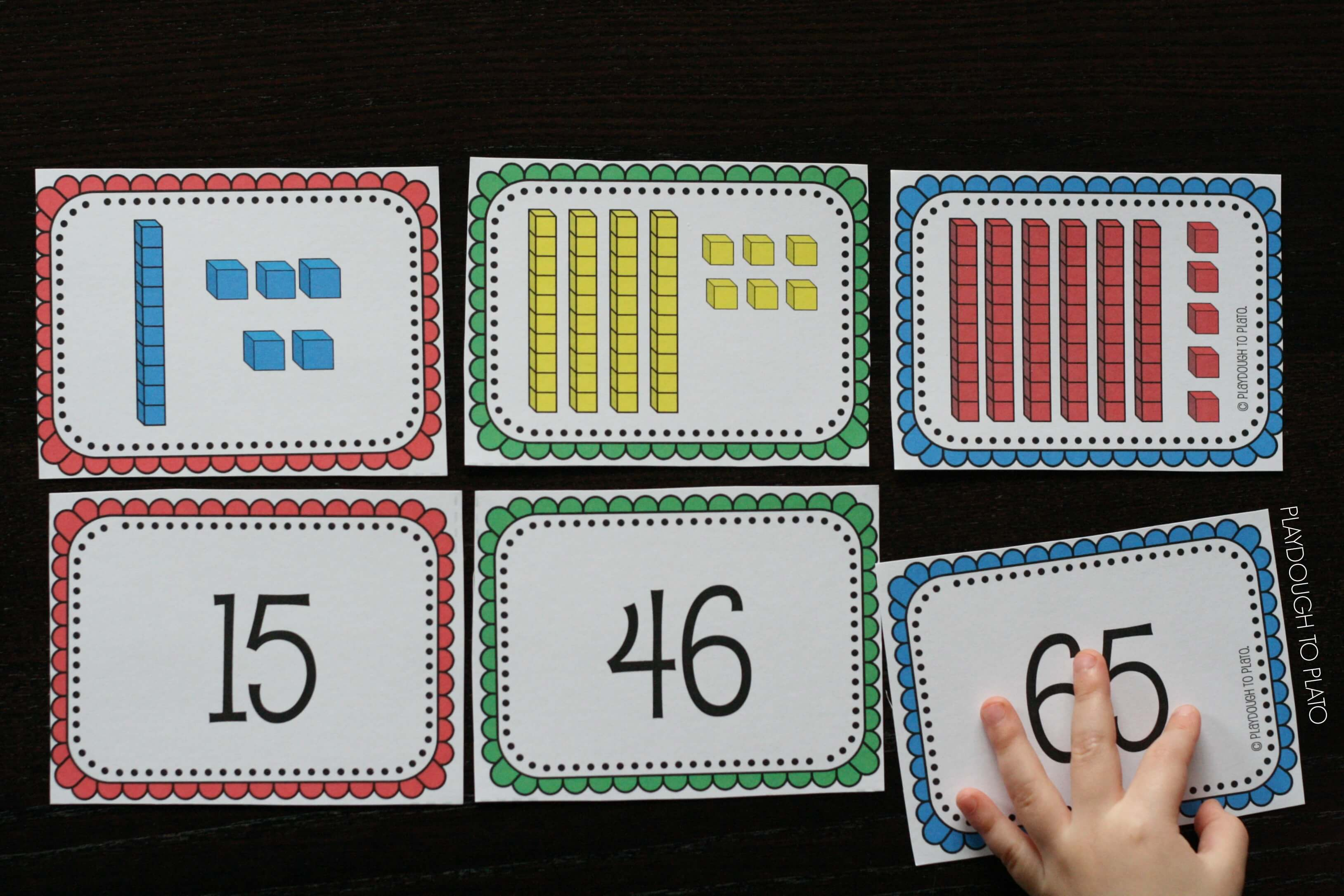 It's just an image of Selective Place Value Games Printable