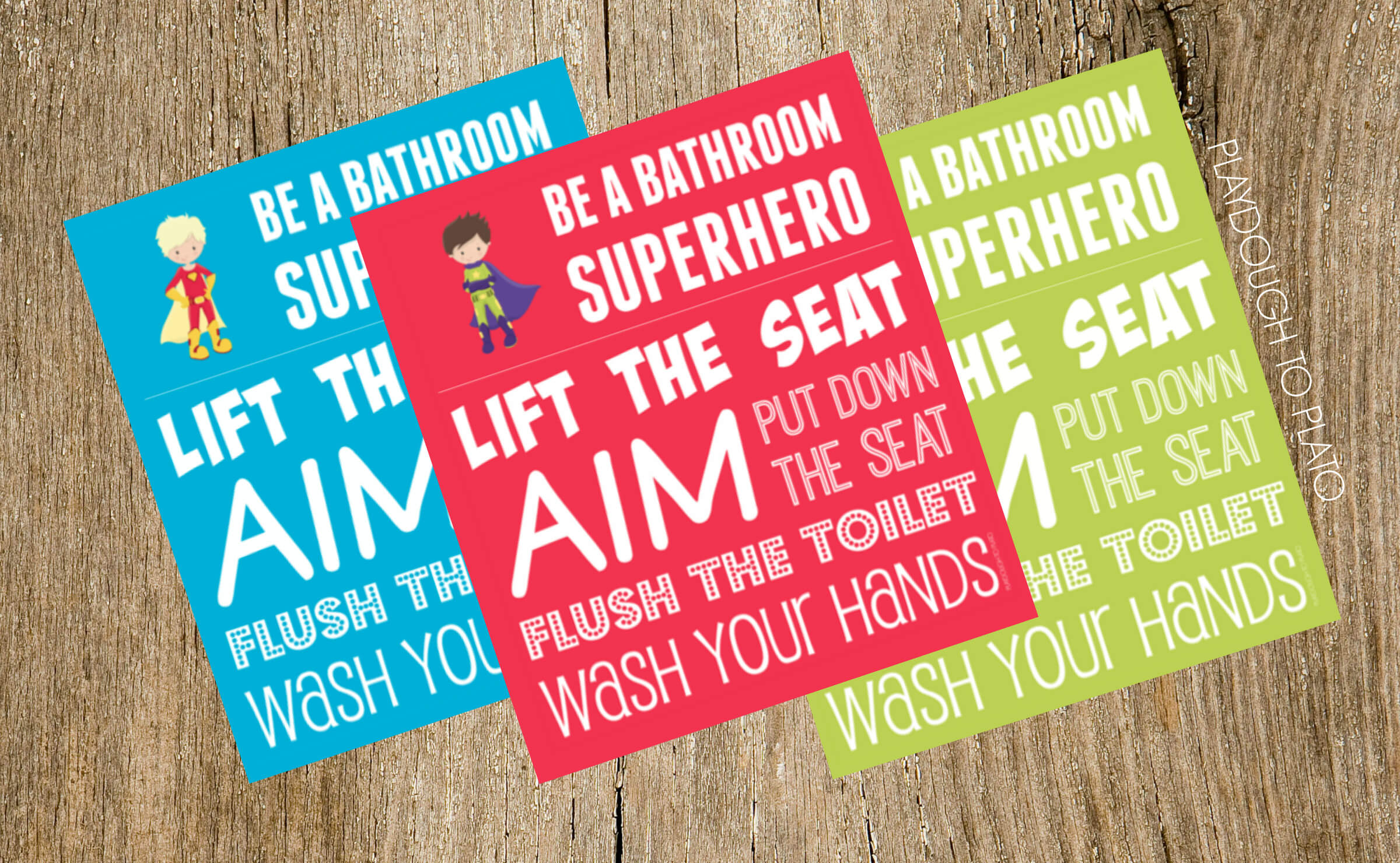 Groovy Boys Bathroom Signs Be A Bathroom Superhero Playdough To Bralicious Painted Fabric Chair Ideas Braliciousco
