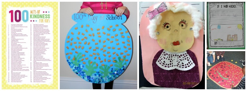 Clever 100th day of school activities for kids