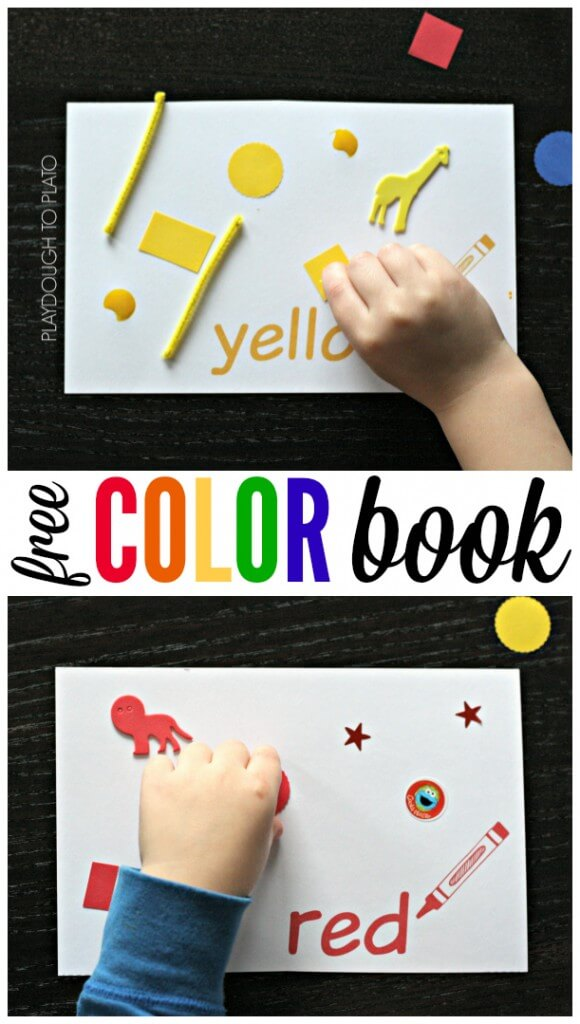 Color Book from Playdough to Playto