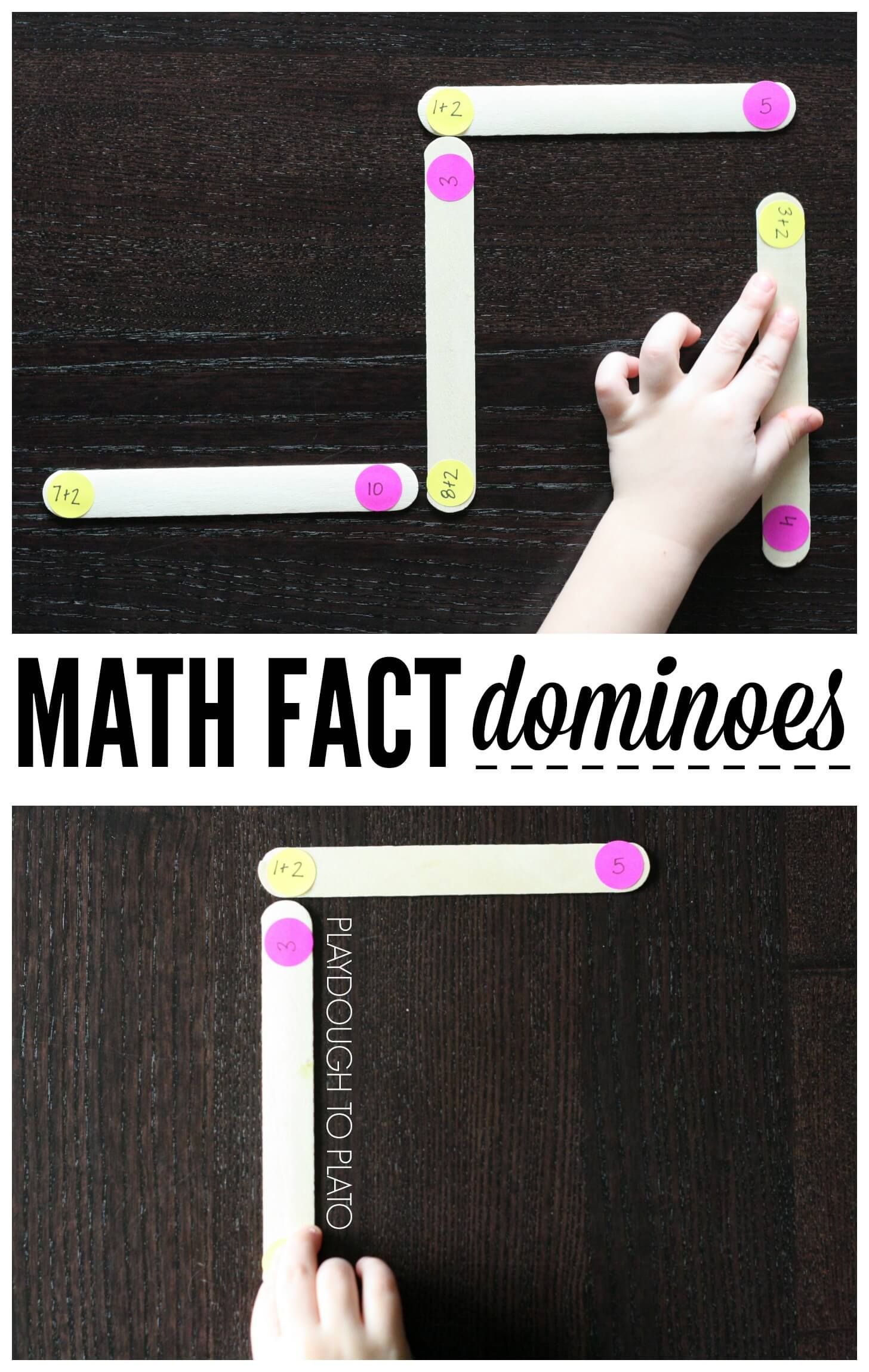 Math Fact Dominoes