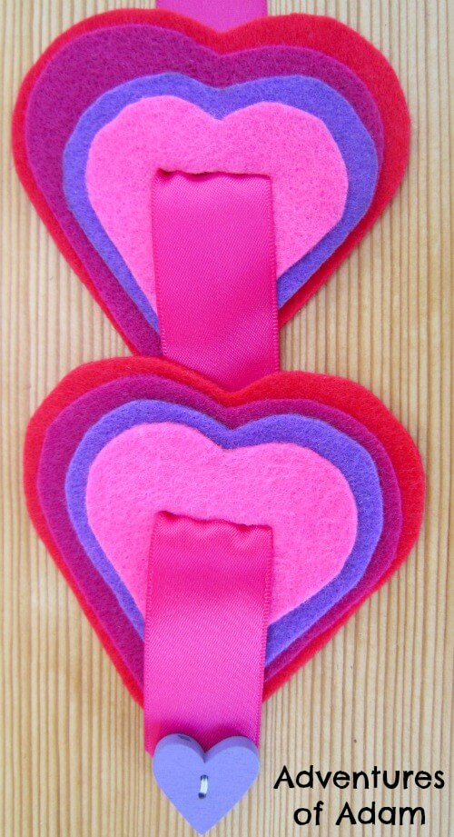Threading-felt-hearts