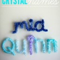 Cover your name in crystals.