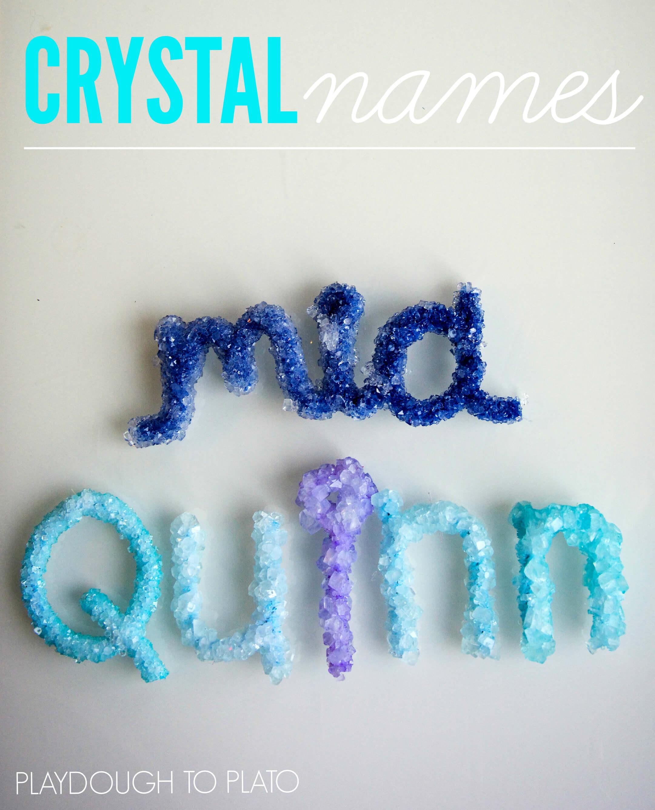 Names Make Make Crystal Names