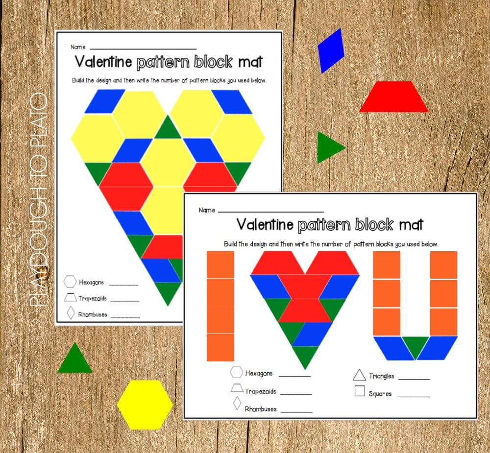Valentine-Pattern-Block-Mats