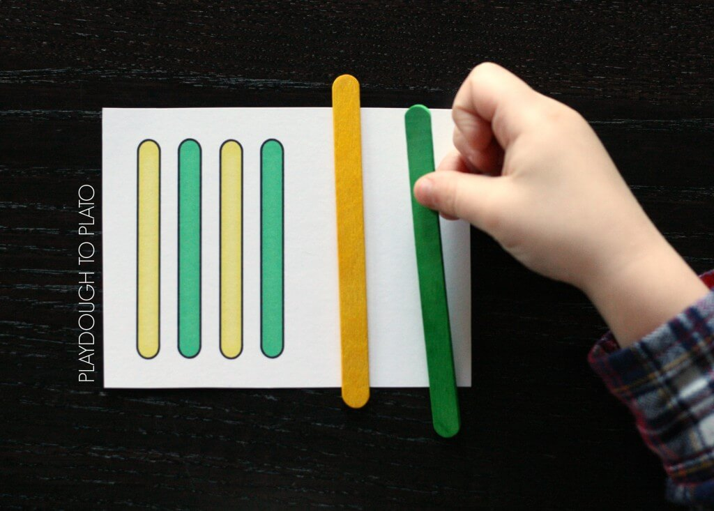 Craft Stick Patterns Playdough To Plato
