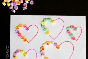Conversation Heart Patterns