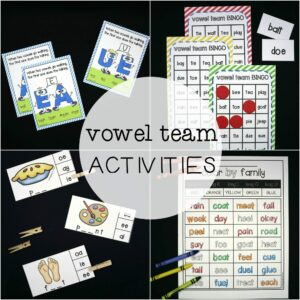 Vowel Team Activities