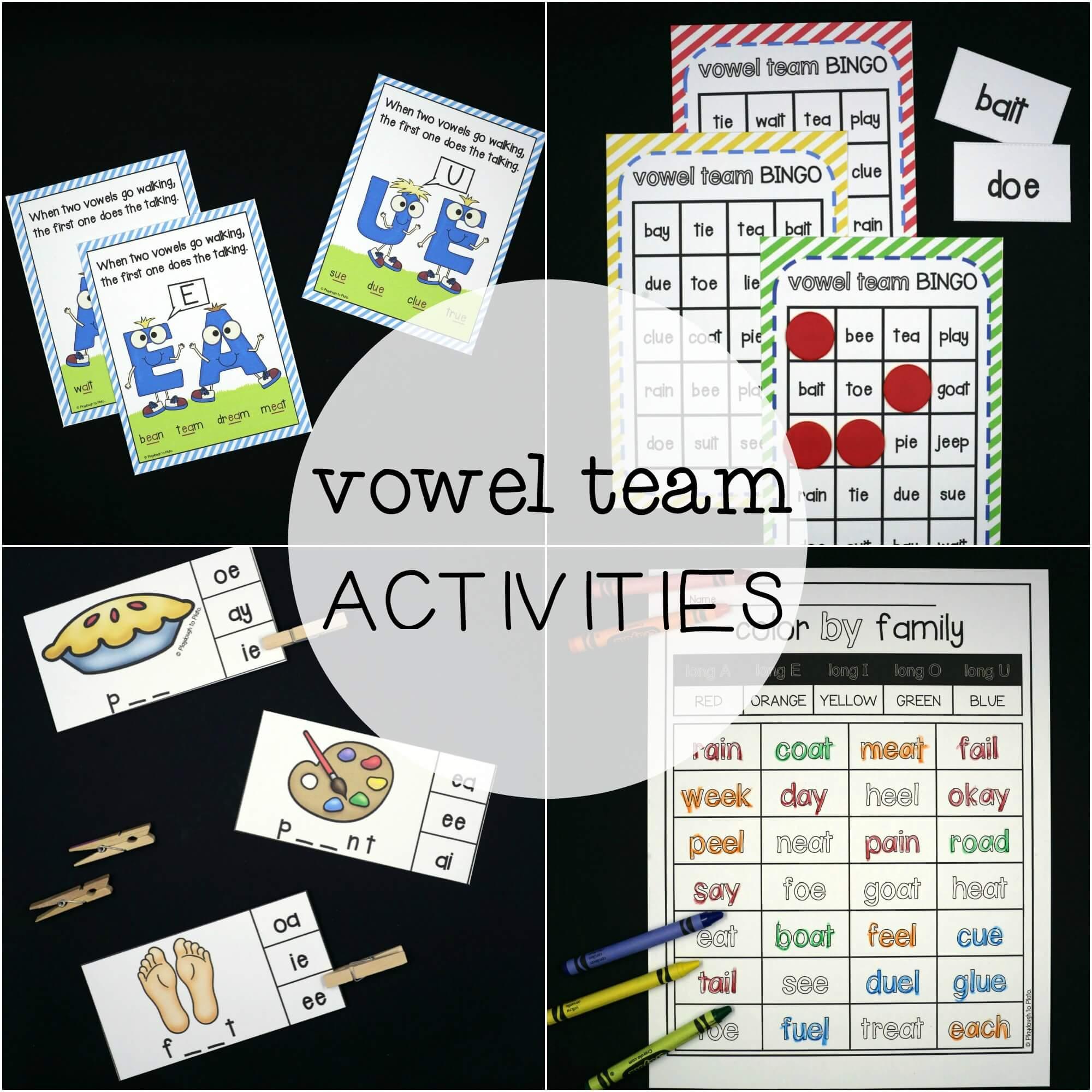 Vowel Team Super Pack