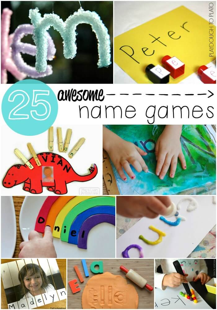 25 Awesome Name Games