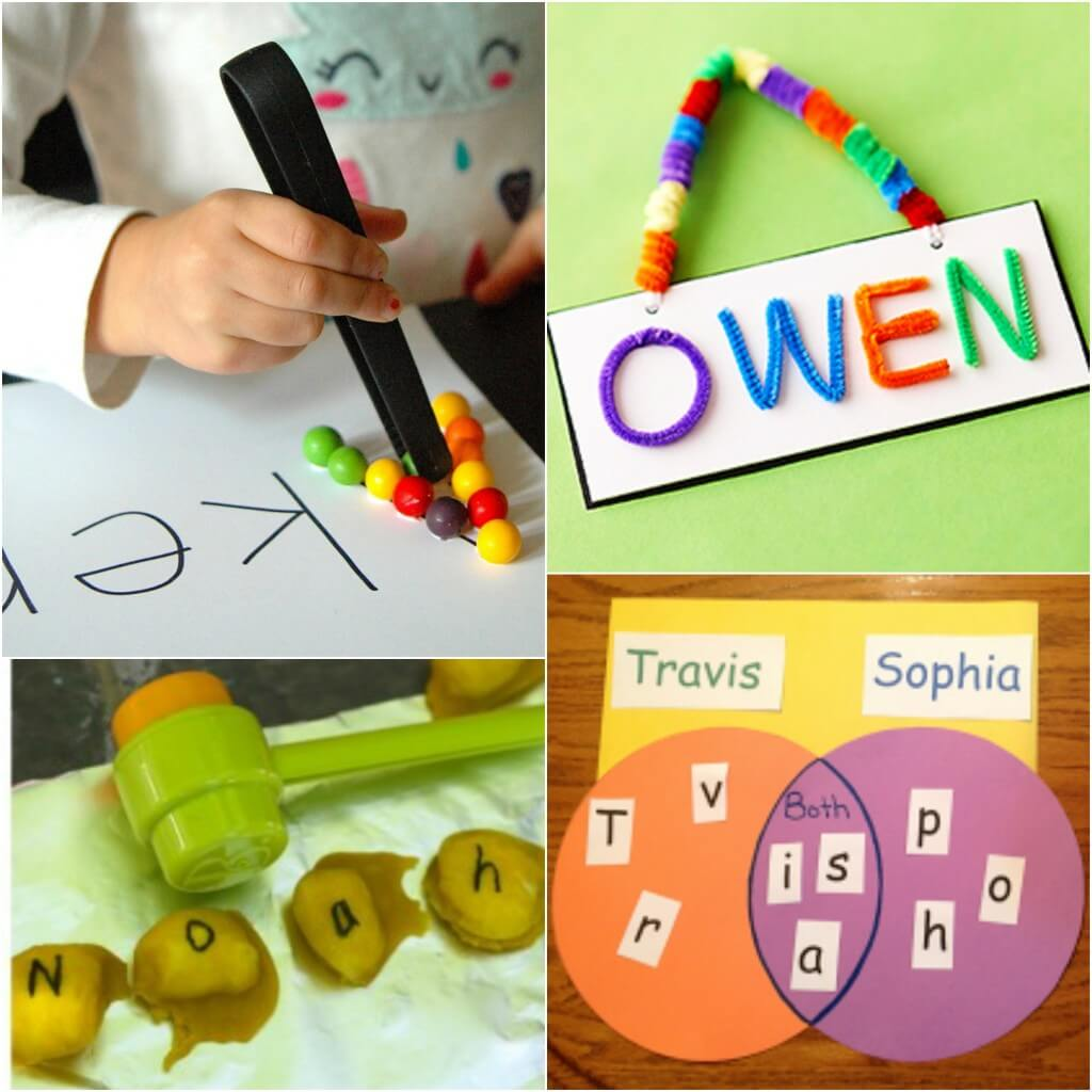25 Must-Try Name Activities for Kids