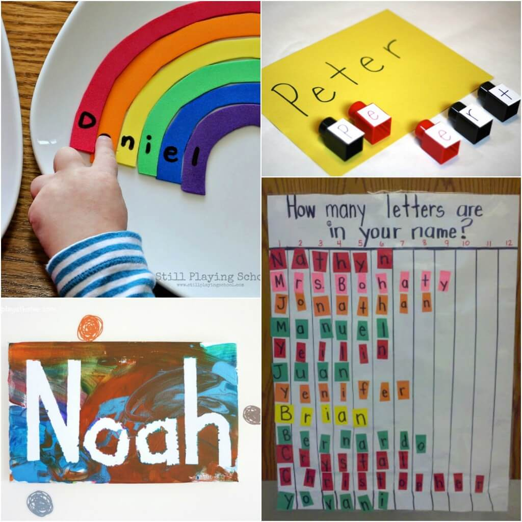 25 Super Fun Name Activities for Kids