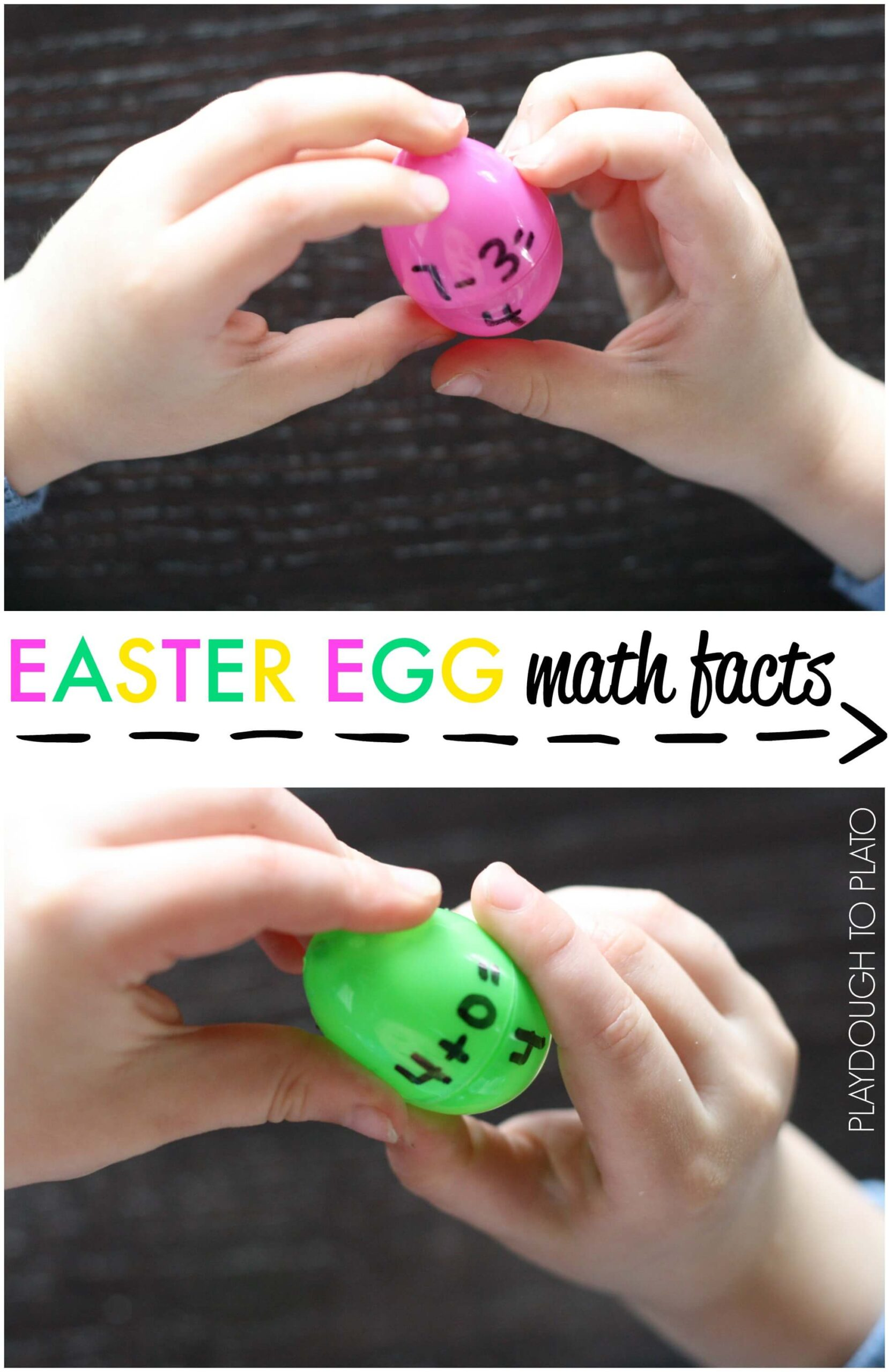 Easter Egg Math Facts