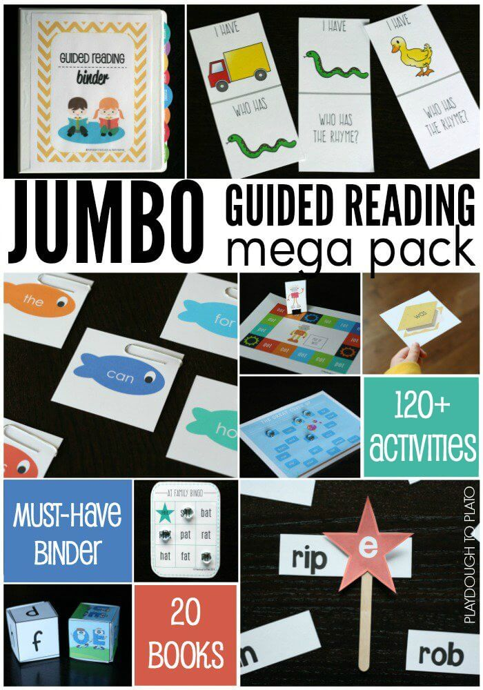 JUMBO-Guided-Reading-Mega-Pack-80-activities-must-have-binder-20-books...-so-much-in-one-download